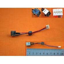 CONECTOR DC JACK CON CABLE PARA DELL INSPIRON 15R 5520 7520 0WX67P WX67P