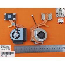 Ventilador para Lenovo thinkpad X220 X230(Heatsink) P/N:23.10678.001 FRU:04W6923 title=