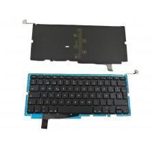 Teclado para APPLE Macbook Pro A1286 Negro (para 2008, con Backlit Board) title=