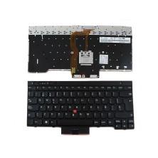 Teclado para ThinkPad T430 T530 X230 Negro (Backlit) title=