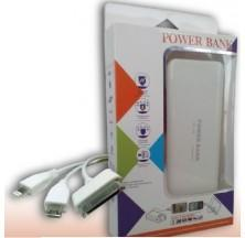 POWER BANK 12000mAh BATERÍA EXTERNA SMARTPHONE IPHONE IPAD TABLET GPS CAMARA