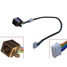 CONECTOR DC JACK CON CABLE PARA PORTATIL DELL INSPIRON 1470 17R N7010