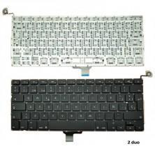 TECLADO PARA PORTÁTIL APPLE MACBOOK PRO CORE 2 DUO 2.4 13 MID-2010 SIN LUZ title=
