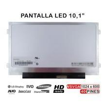 PANTALLA WSVGA N101L6 L0D LED SLIM NUEVA DISPLAY SCREEN