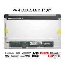 PANTALLA LED DE 11,6 PULGADAS PARA PORTÁTILES LP116WH1 (TL) (A1) LP116WH1-TLA1