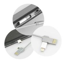 POWER BANK 12000 MAH | NEGRO | CUERO | CONECTOR MINI USB Y IPHONE