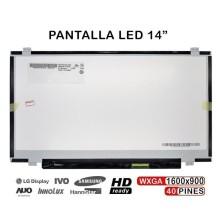 "PANTALLA LED 14.0"" B140RW02 title="
