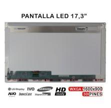 """PANTALLA 17.3"""" HD LED N173FGE-E23 N173HGE-E11 B173RTN01.1 B173RTN01.1 EDP 30 PINES title="""