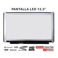 "PANTALLA PORTÁTIL LED 13.3""  B133XTN01.5 B133XTNO1 .5 B133XTNOI.5 title="