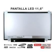 """PANTALLA 11.6"""" HD LED SLIM N116BGE-L41 N116BGE-E42 N116BGE-E32 EDP DE 30 PINES"""