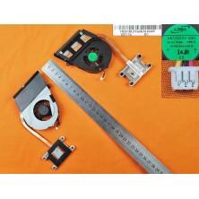 Ventilador para portátil Toshiba L750 L750d L755