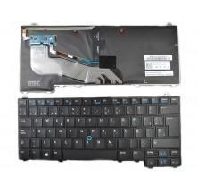 Teclado para DELL Latitude E5440 Negro (con point, Backlit, Win8)
