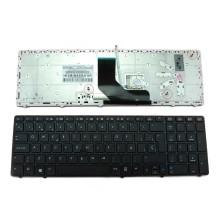 Teclado para HP 8560P Negro Marco Negro (con Point stick, para Win8)