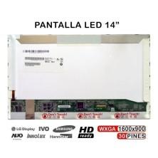 PANTALLA LED PARA PORTATIL AUO B140RW01 B140RW01 V.2 B140RW03 V.0