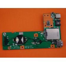 PLACA USB/ETHERNET PARA PORTÁTIL ASUS X52J K52J K52JC K52JK K52JT K52F K52D K52DR PJ06X