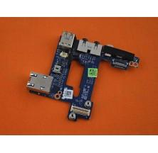 PLACA USB / AUDIO / ETHERNET PARA PORTÁTIL DELL E6500 M4400 E6400 E6410 E6420 N533H