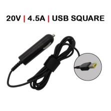 CARGADOR PARA COCHE DE LENOVO IDEAPAD Z510 20V 4.5A USB SQUARE 90W