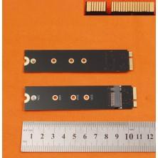 CARTÃO ADAPTADOR SSD M.2 (NGFF) PARA PORTATIL MACBOOK AIR A1465 A1466 A1369 A1370 (2012)