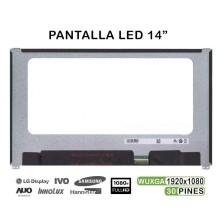 """PANTALLA LED DE 14"""" PARA PORTÁTIL NV140FHM-N47 06HY1W 6HY1W 30 PINES"""