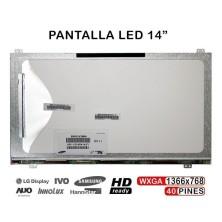 "PANTALLA LED DE 14"" PARA PORTÁTIL LTN140AT21-001 LTN140AT21-002 LTN140RT21-T01"