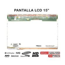 "PANTALLA LCD DE 15"" PULGADAS PARA PORTÁTIL B150PG01 N150P5-L04 REV. C1"