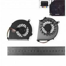 VENTILADOR CPU PARA PORTÁTIL HP PAVILION G43 G57 G58 COMPAQ PRESARIO CQ43 CQ57 CQ58 CQ58-100SF