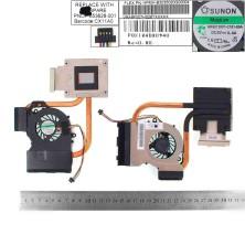 VENTILADOR CON DISIPADOR PARA PORTÁTIL HP PAVILION DV6-6000 DV7-6000 AMD KSB0505HB 650847-001 MF60120V1-C180-S9A
