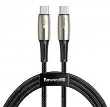 CABLE USB TIPO C A LIGHTNING 18W PD 1.3M NEGRO BASEUS