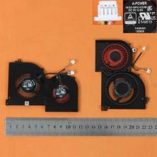 VENTILADOR GPU PARA PORTÁTIL MSI GS65 GS65VR MS-16Q2
