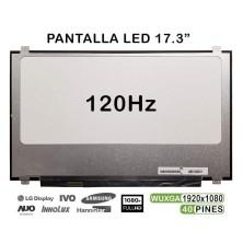 "PANTALLA LED DE 17.3"" PARA PORTÁTIL N173HHE-G32 REV.C1 40 PINES 120HZ"
