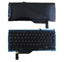TECLADO PARA APPLE MACBOOK PRO UNICUERPO A1398
