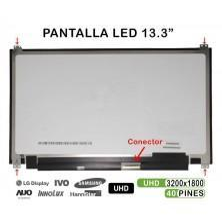 "PANTALLA LED 13.3"" PARA PORTÁTIL LTN133YL04-P01 QHD+"