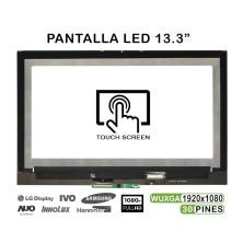 """PANTALLA CON TÁCTIL Y MARCO DE 13.3"""" PARA PORTÁTIL LENOVO YOGA 720-13IKB FHD M133NWF4 R0"""