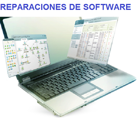 REPARACIONES DE SOFTWARE PORTATIL